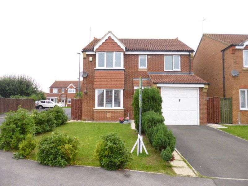 4 Bedrooms Detached House for sale in Richardson Court, Willington