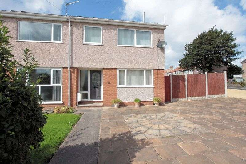 3 Bedrooms Terraced House for sale in Brookdale Road, Rhyl