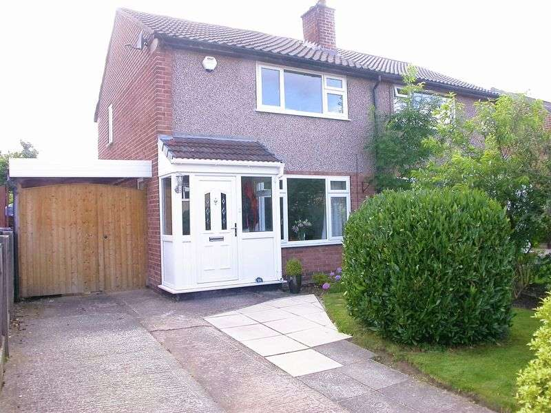 2 Bedrooms Semi Detached House for sale in HAZEL GROVE (BIRCH TREE AVENUE)