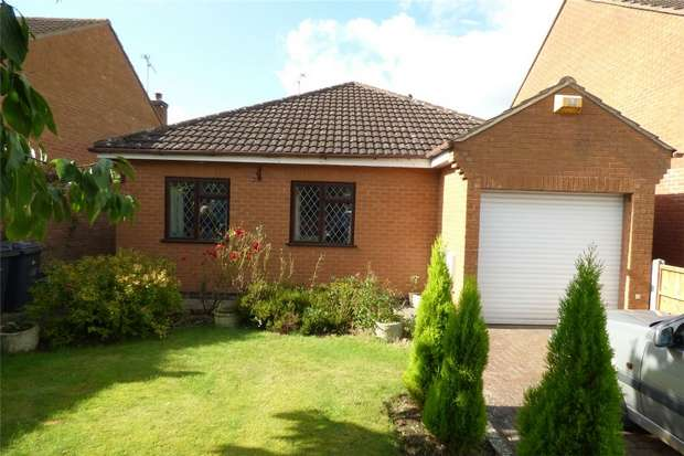 3 Bedrooms Detached Bungalow for sale in Hill Farm Avenue, Whitestone, Nuneaton, Warwickshire