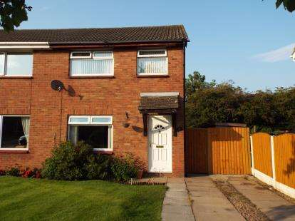 3 Bedrooms Semi Detached House for sale in Newark, Close, Bootle, Merseyside, L30