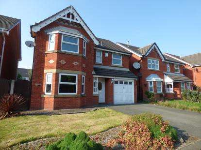4 Bedrooms Detached House for sale in Farmleigh Gardens, Great Sankey, Warrington, Cheshire, WA5