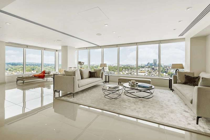 4 Bedrooms Flat for sale in Marathon House, Marylebone, NW1