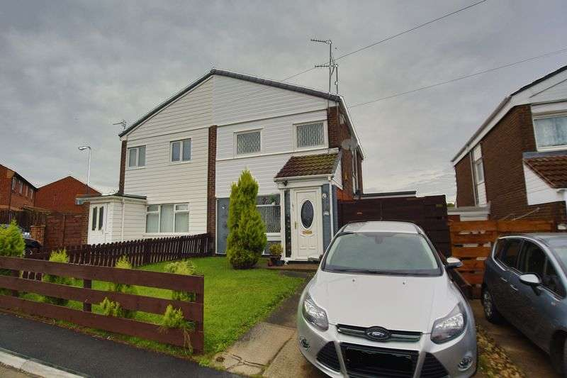 3 Bedrooms Semi Detached House for sale in Arthington Way, South Shields
