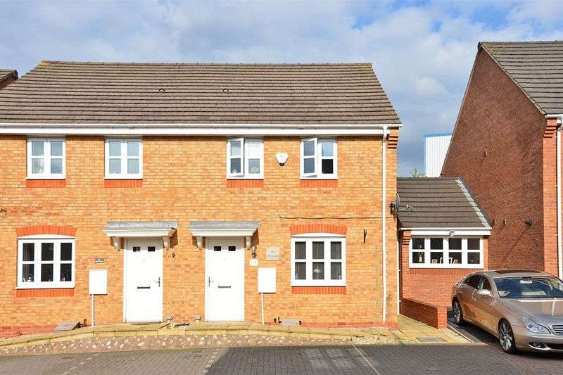 3 Bedrooms Semi Detached House for sale in Puddlers Grove, Wednesbury