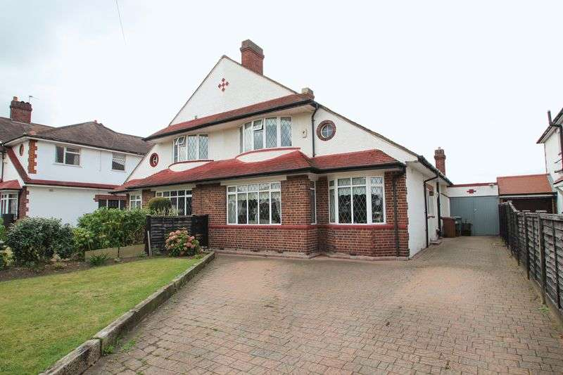 3 Bedrooms Semi Detached House for sale in Willersley Avenue, Sidcup