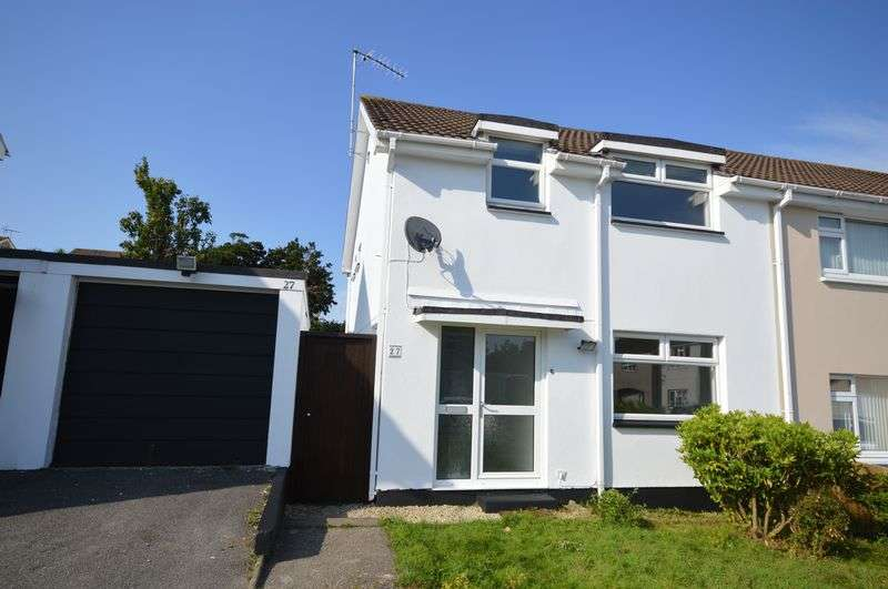 3 Bedrooms Semi Detached House for sale in Brookside, St. Austell