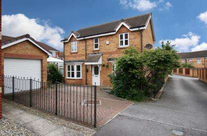 3 Bedrooms Detached House for sale in Brunswick Drive, Sunnyside, Rotherham, South Yorkshire