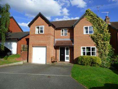 4 Bedrooms Detached House for sale in Fishermans Close, Winterley, Sandbach, Cheshire