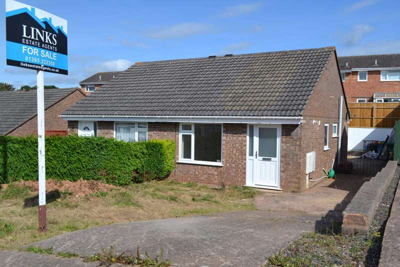 2 Bedrooms Semi Detached Bungalow for sale in Bradford Close, Exmouth