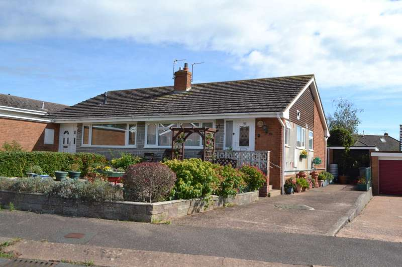 2 Bedrooms Semi Detached Bungalow for sale in Winston Road, Exmouth
