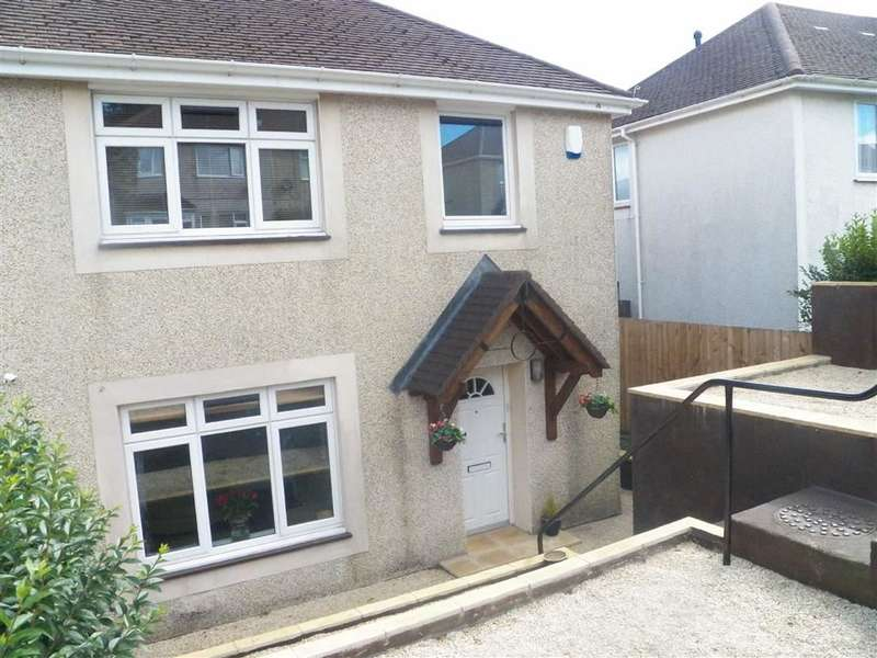 3 Bedrooms Semi Detached House for sale in Llangorse Road, Penlan, Swansea