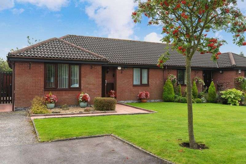 2 Bedrooms Semi Detached Bungalow for sale in Beaumont Crescent, Aughton
