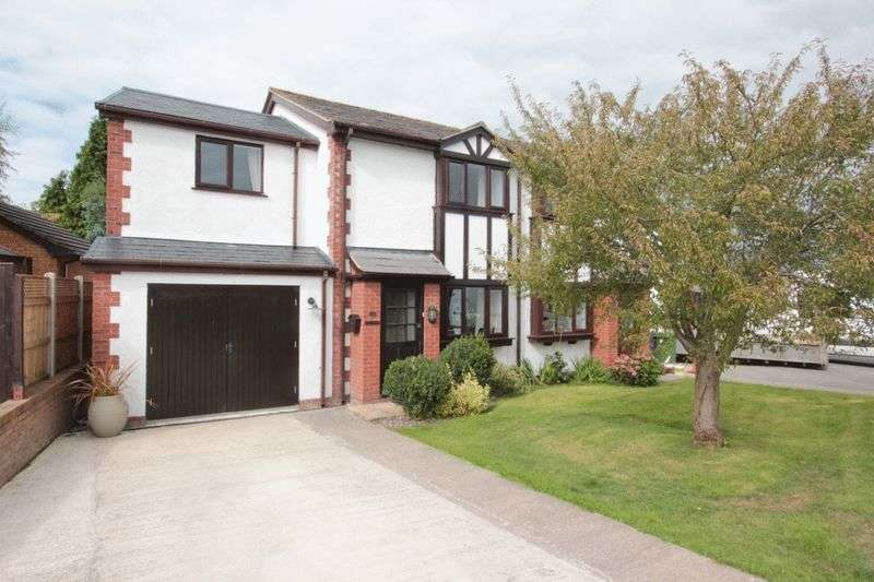 4 Bedrooms Semi Detached House for sale in Caer Felin, Llanrhaeadr