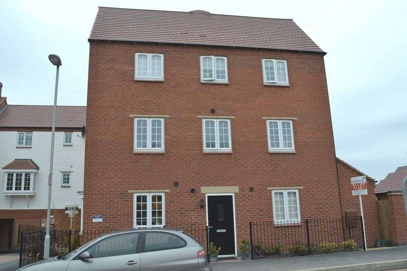 4 Bedrooms Semi Detached House for sale in Salford Way, Church Gresley, Swadlincote