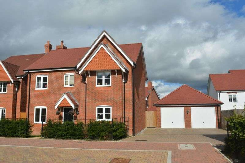 4 Bedrooms Detached House for sale in East Challow