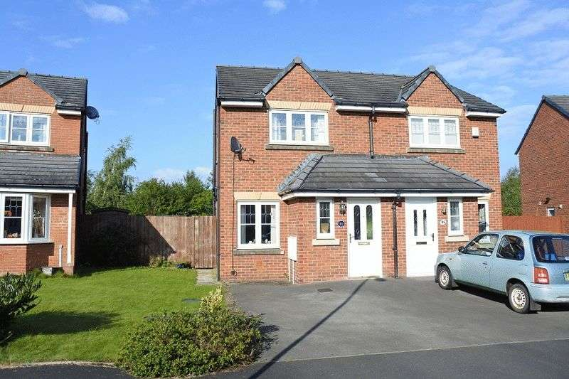2 Bedrooms Semi Detached House for sale in Edenside, Cargo
