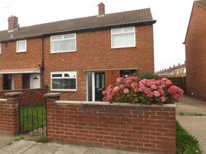 3 Bedrooms End Of Terrace House for sale in Gainsborough Avenue, Whiteleas, South Shields, Tyne and Wear, NE34