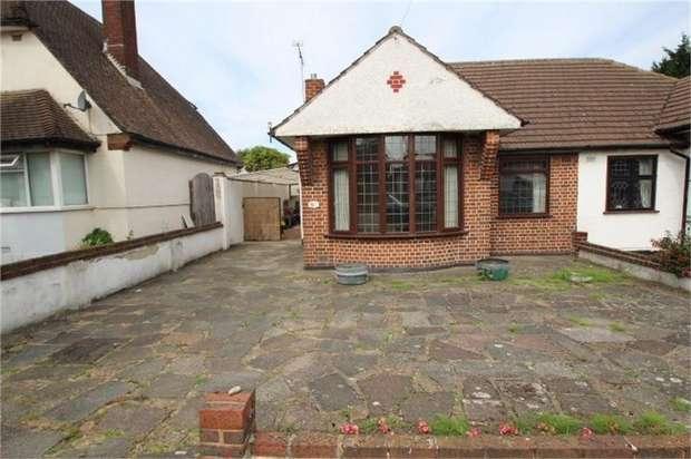2 Bedrooms Semi Detached Bungalow for sale in Waldenhurst Road, ORPINGTON, Kent