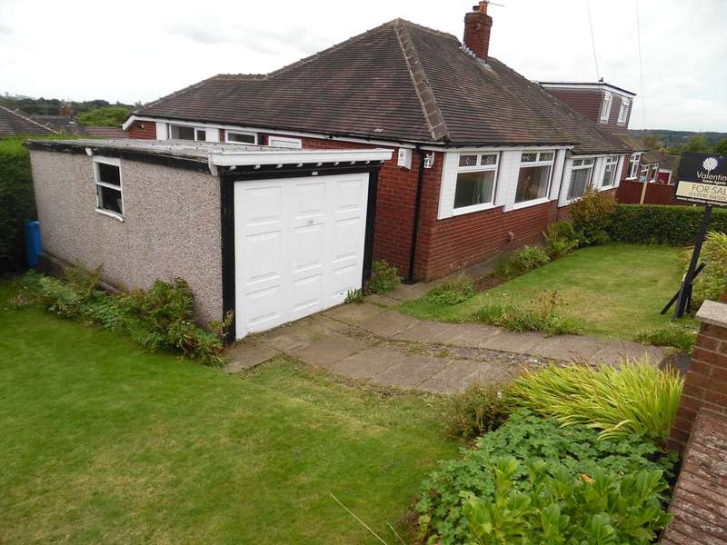 2 Bedrooms Semi Detached Bungalow for sale in Devon Close, High Crompton, Shaw