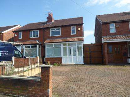 3 Bedrooms Semi Detached House for sale in Rostrevor Road, Adswood, Stockport, Cheshire