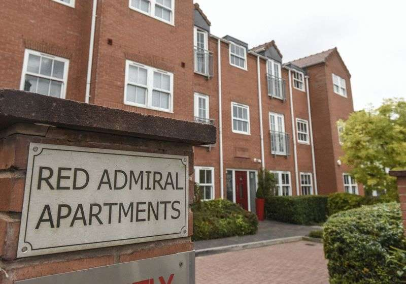 1 Bedroom Flat for sale in 3 Red Admiral Apartments, Worcester Street, Stourbridge