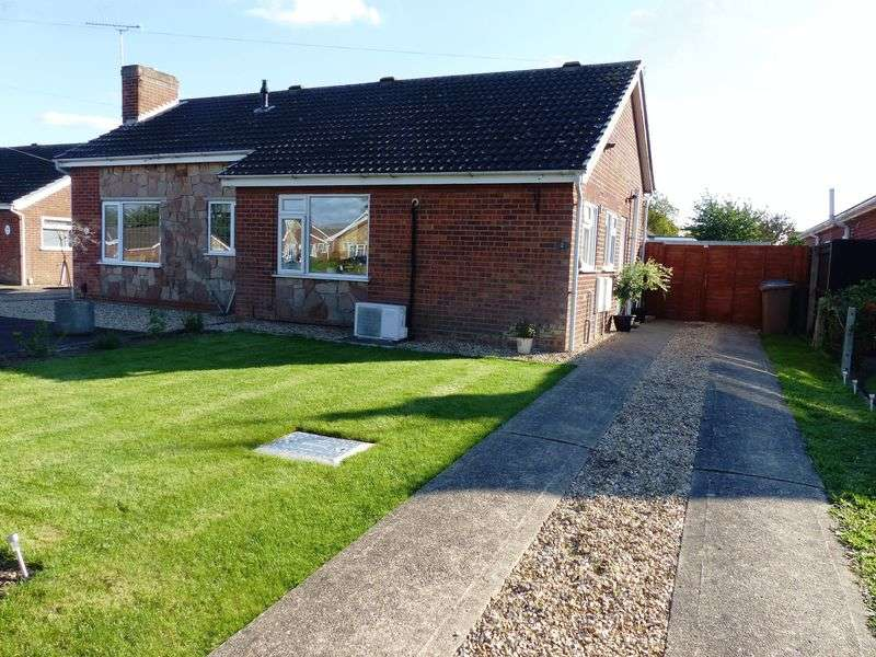 1 Bedroom Semi Detached Bungalow for sale in Kexby Mill Close, North Hykeham