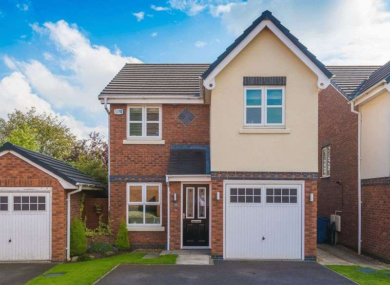 3 Bedrooms Detached House for sale in Churton Grove, Standish