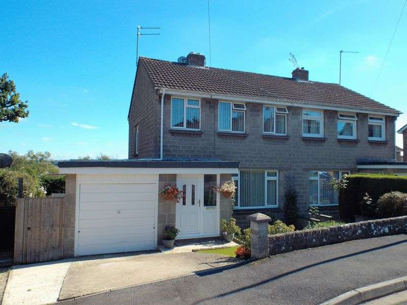 3 Bedrooms Semi Detached House for sale in Martins Close, Chippenham
