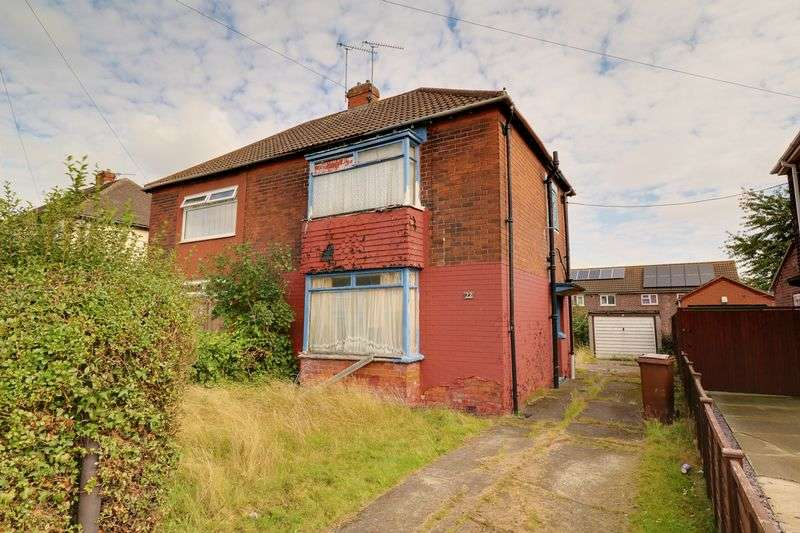 2 Bedrooms Semi Detached House for sale in Warley Road, Scunthorpe
