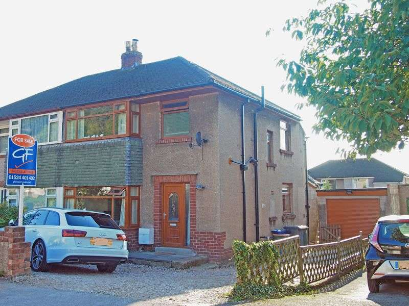3 Bedrooms Semi Detached House for sale in Whin Avenue, Bolton Le Sands, Carnforth