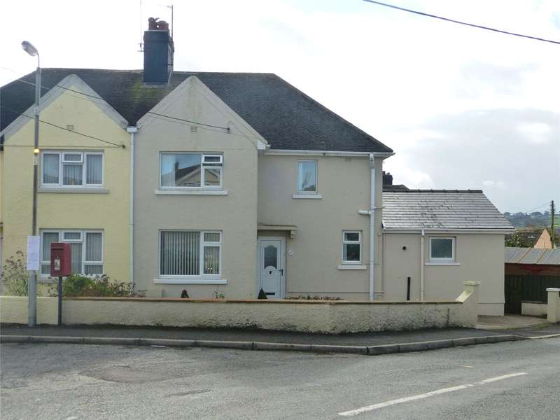 4 Bedrooms Semi Detached House for sale in Coxhill, Narberth, Pembrokeshire