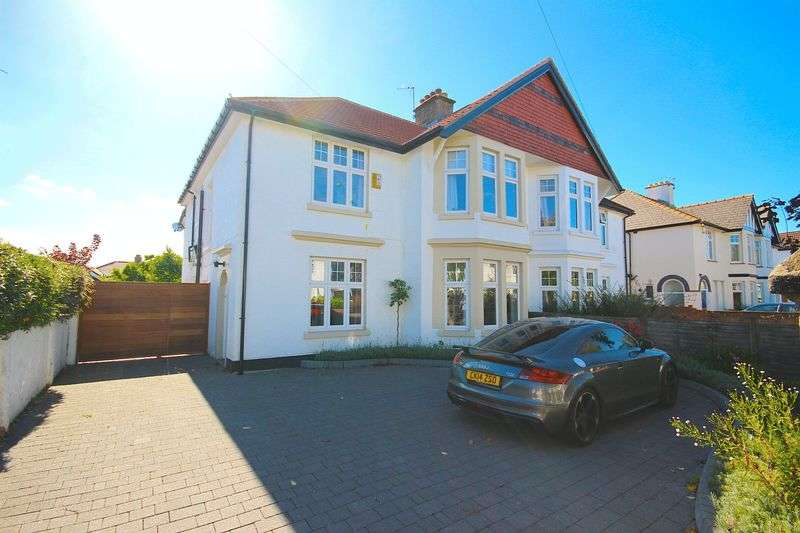 4 Bedrooms Semi Detached House for sale in St. Michaels Road, Llandaff, Cardiff