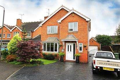 3 Bedrooms Detached House for sale in Sparrowbusk Close, Barlborough, Chesterfield, Derbyshire