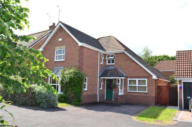 4 Bedrooms Detached House for sale in Camville, Binley, Coventry, West Midlands