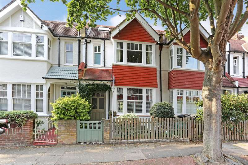4 Bedrooms Terraced House for sale in Riverview Road, London, W4