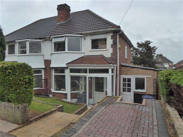 3 Bedrooms Semi Detached House for sale in Fairway, Northfield, Birmingham