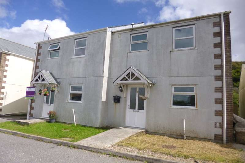 3 Bedrooms Semi Detached House for sale in Carn Bargus, Whitemoor,Nanpean, St. Austell, PL26