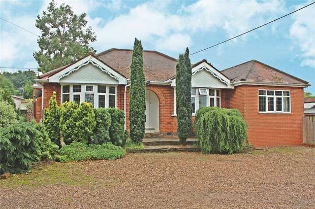 4 Bedrooms Detached Bungalow for sale in Barfield, Kingswood Avenue, Corley