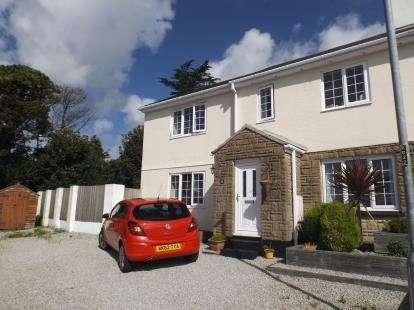 4 Bedrooms Semi Detached House for sale in Praze, Camborne, Cornwall