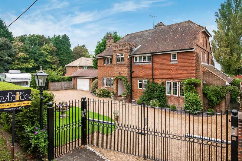 4 Bedrooms Detached House for sale in Rusper Road, Ifield, West Sussex, RH11