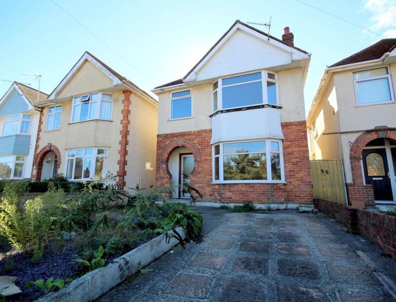 3 Bedrooms Detached House for sale in Yarmouth Road, Branksome, Poole, BH12