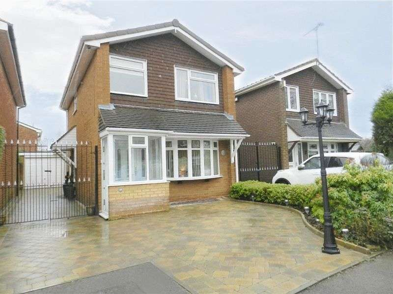 3 Bedrooms Detached House for sale in Silverstone Close, Bentley, Walsall