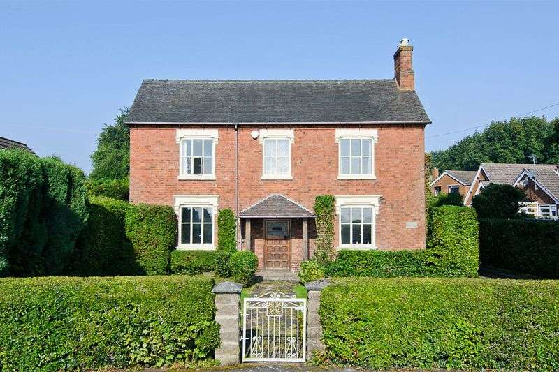 4 Bedrooms Detached House for sale in Chestall Road, Cannock Wood, Rugeley