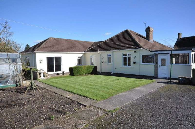 4 Bedrooms Detached Bungalow for sale in Tower Hill, Stoke St Michael, Radstock