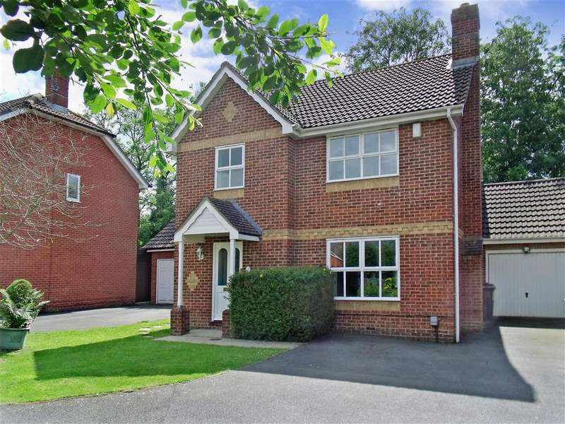 4 Bedrooms Detached House for sale in Jersey Close, Kennington, Ashford, Kent