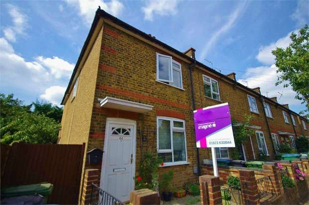 2 Bedrooms End Of Terrace House for sale in Willow Lane, WATFORD, Hertfordshire