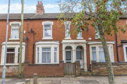 3 Bedrooms Terraced House for sale in St. James Park Road, St James, Northampton, Northants