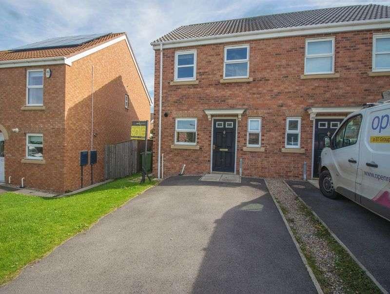 2 Bedrooms Semi Detached House for sale in Wallington Close, Blaydon
