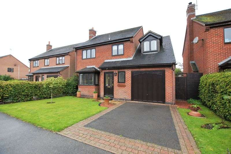 4 Bedrooms Detached House for sale in Stanton Road, Ashbourne